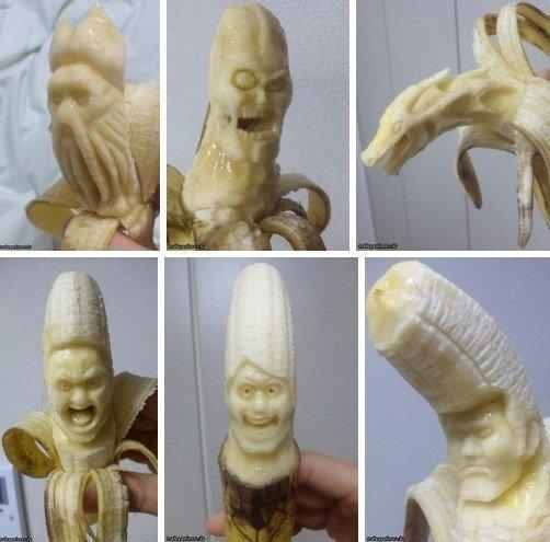 Резьба по банану ^_^ - Изображение 1