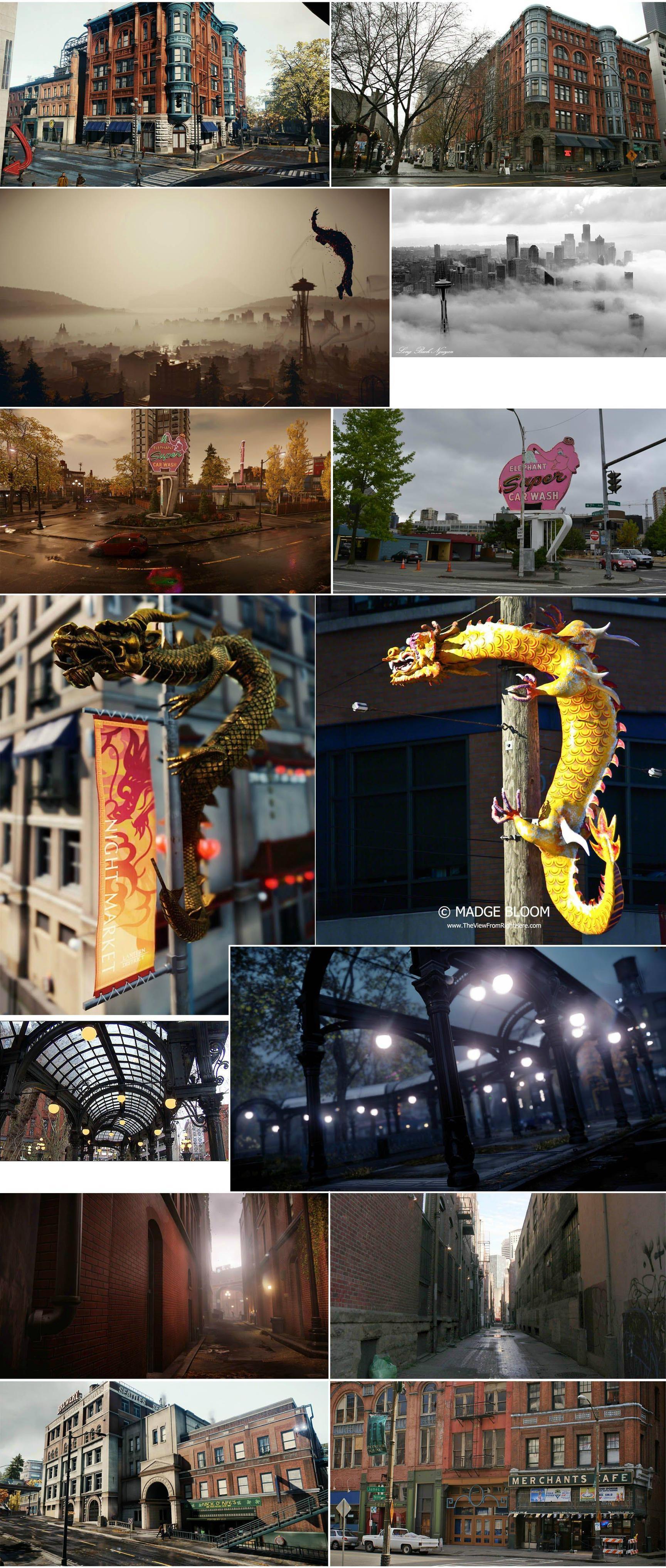 Реальный город Сиэтл и inFamous: Second Son  - Изображение 1