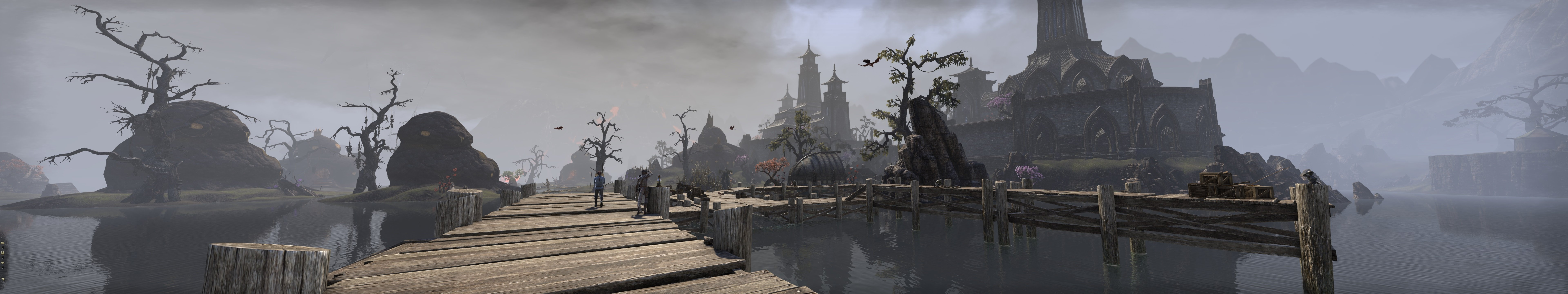 Пачка скриншотов из The Elder Scrolls Online на максимальных настройках в разрешении 7680x1440 - Изображение 5