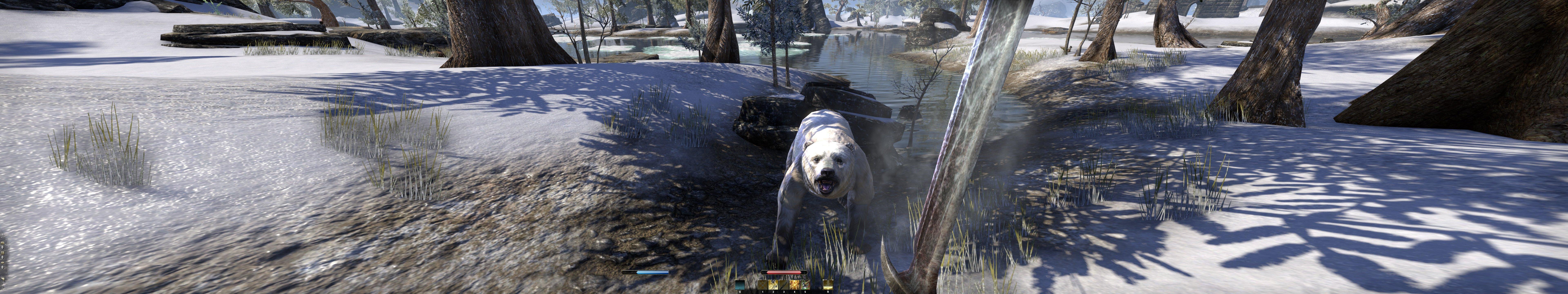 Пачка скриншотов из The Elder Scrolls Online на максимальных настройках в разрешении 7680x1440 - Изображение 1