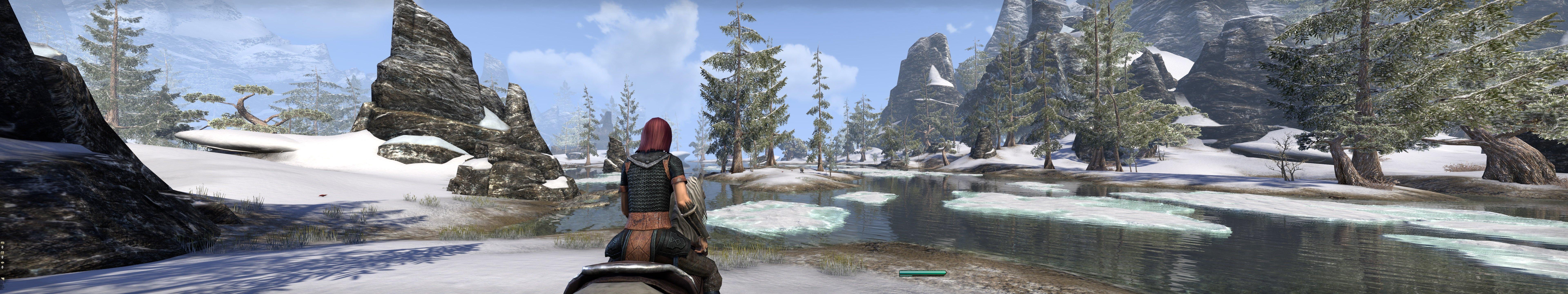 Пачка скриншотов из The Elder Scrolls Online на максимальных настройках в разрешении 7680x1440 - Изображение 4