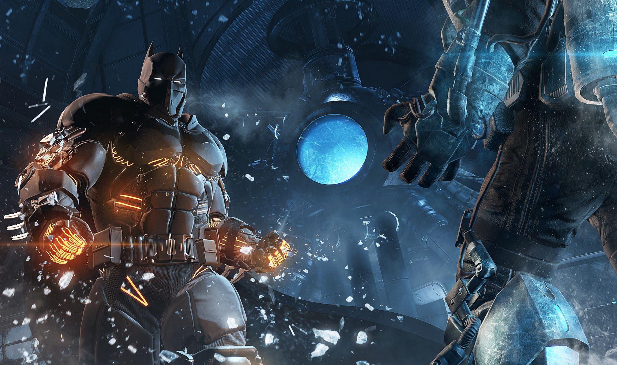 Новый костюм Бэтмана из DLC про Мистера Фриза для Arkham Oringins - Изображение 1