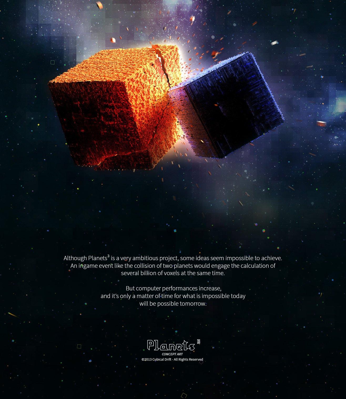 Гость с Kickstarter: Planets³ успешно завершила кампанию - Изображение 1