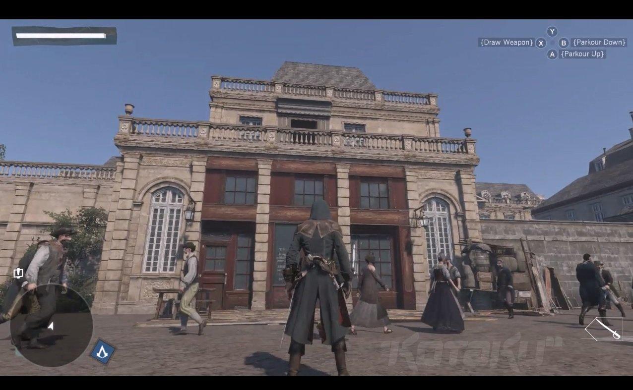 В Assassin's Creed: Unity может появится горизонтальный бег по стенам - Изображение 1