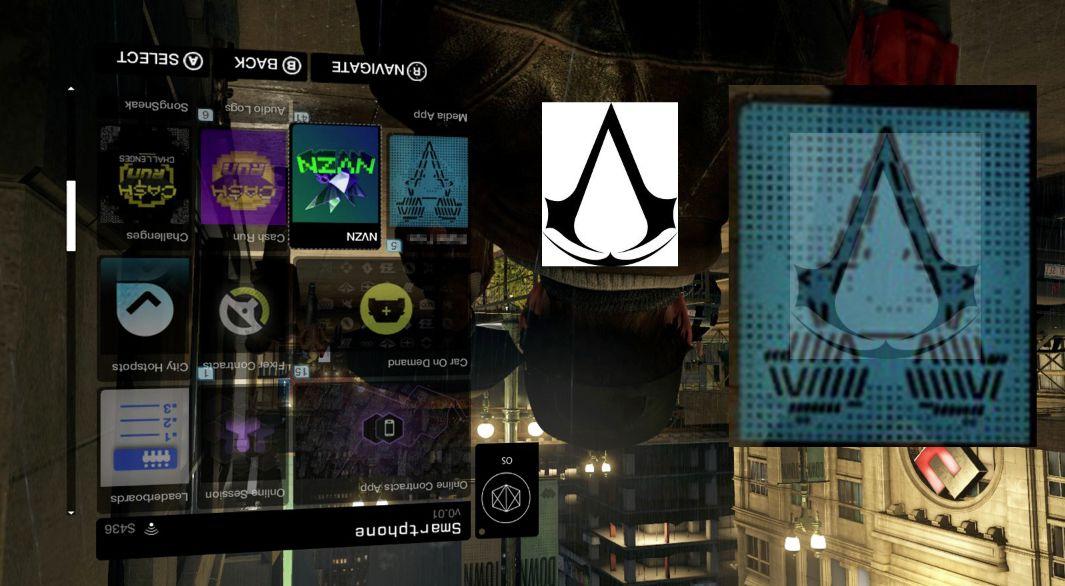 На скриншоте Watch Dogs замечен логотип Assassin's Creed! - Изображение 1