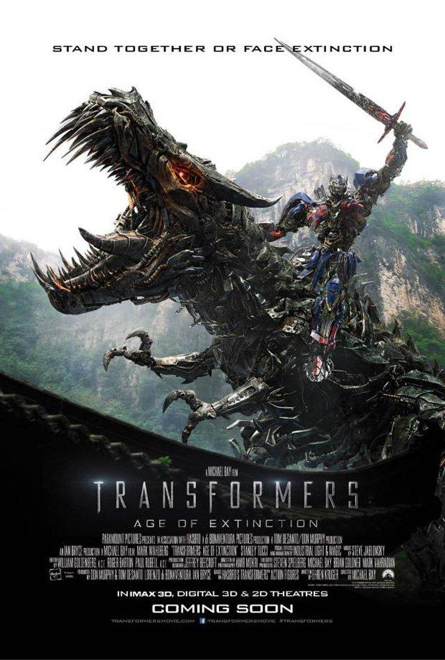 """Новый постер """"Трансформеры 4 : Эпоха Истребления"""". - Изображение 1"""