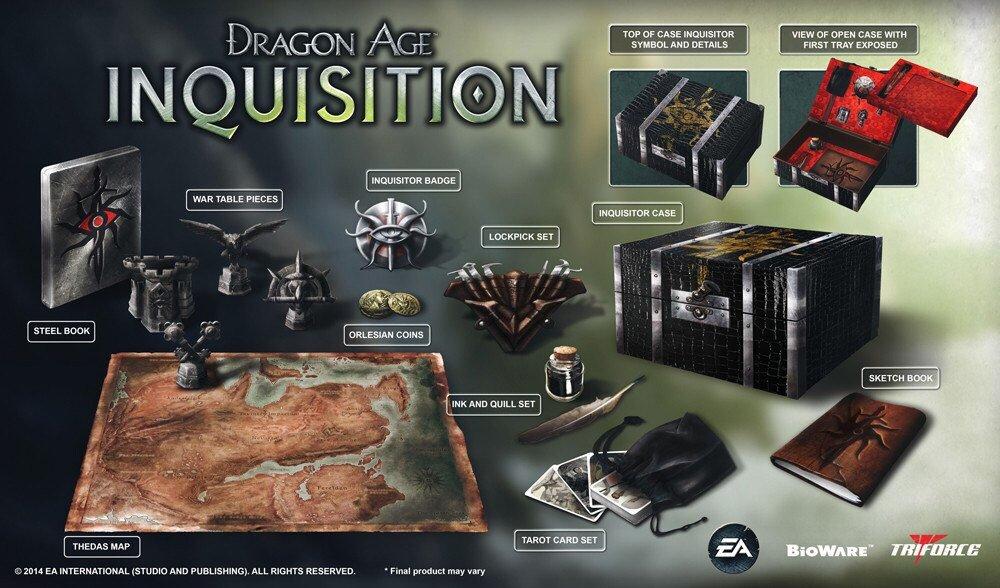 Коллекционное издание Dragon Age Inquisition - Изображение 1