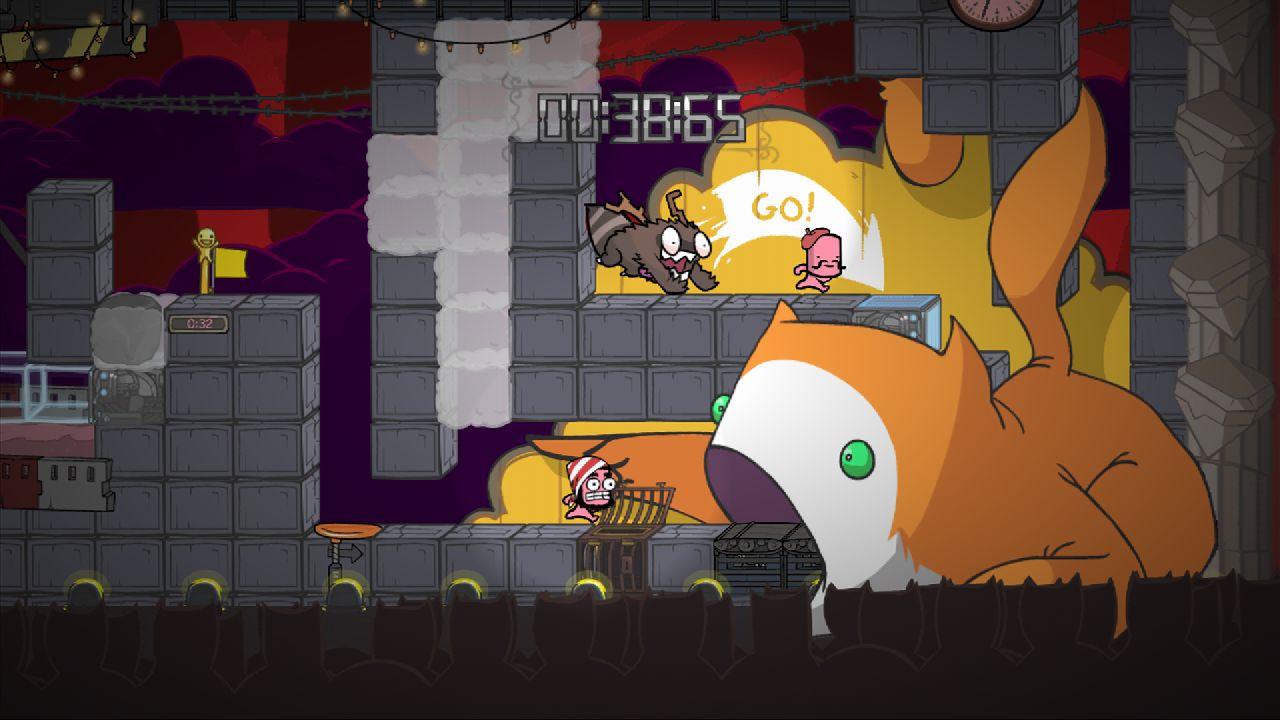 15 мая с xbox 360  на пк вышла необычная аркада BattleBlock Theater . - Изображение 8