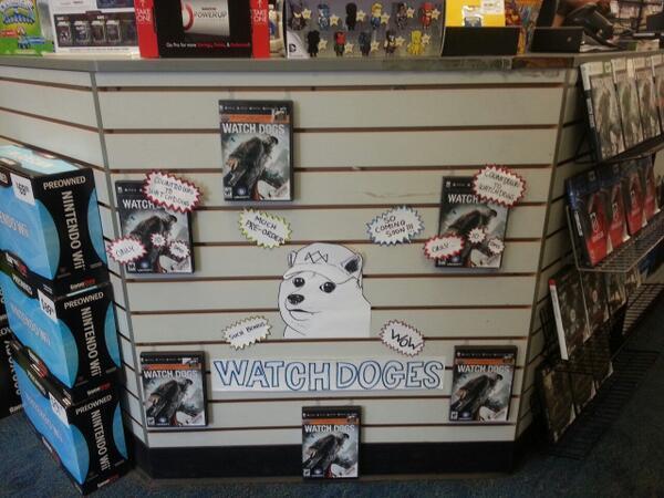 #Watch_Dogs #Doge  - Изображение 1