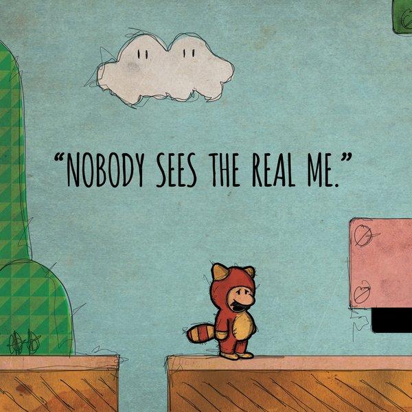 У 8-битных героев своя депрессия (арты) - Изображение 4