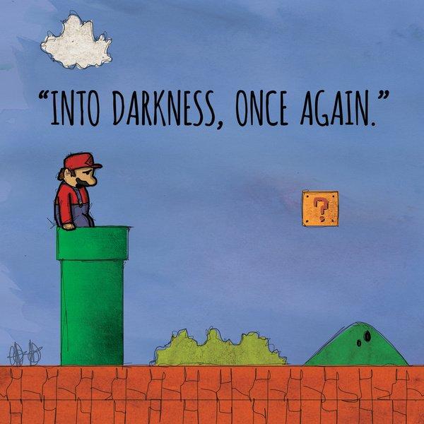 У 8-битных героев своя депрессия (арты) - Изображение 2