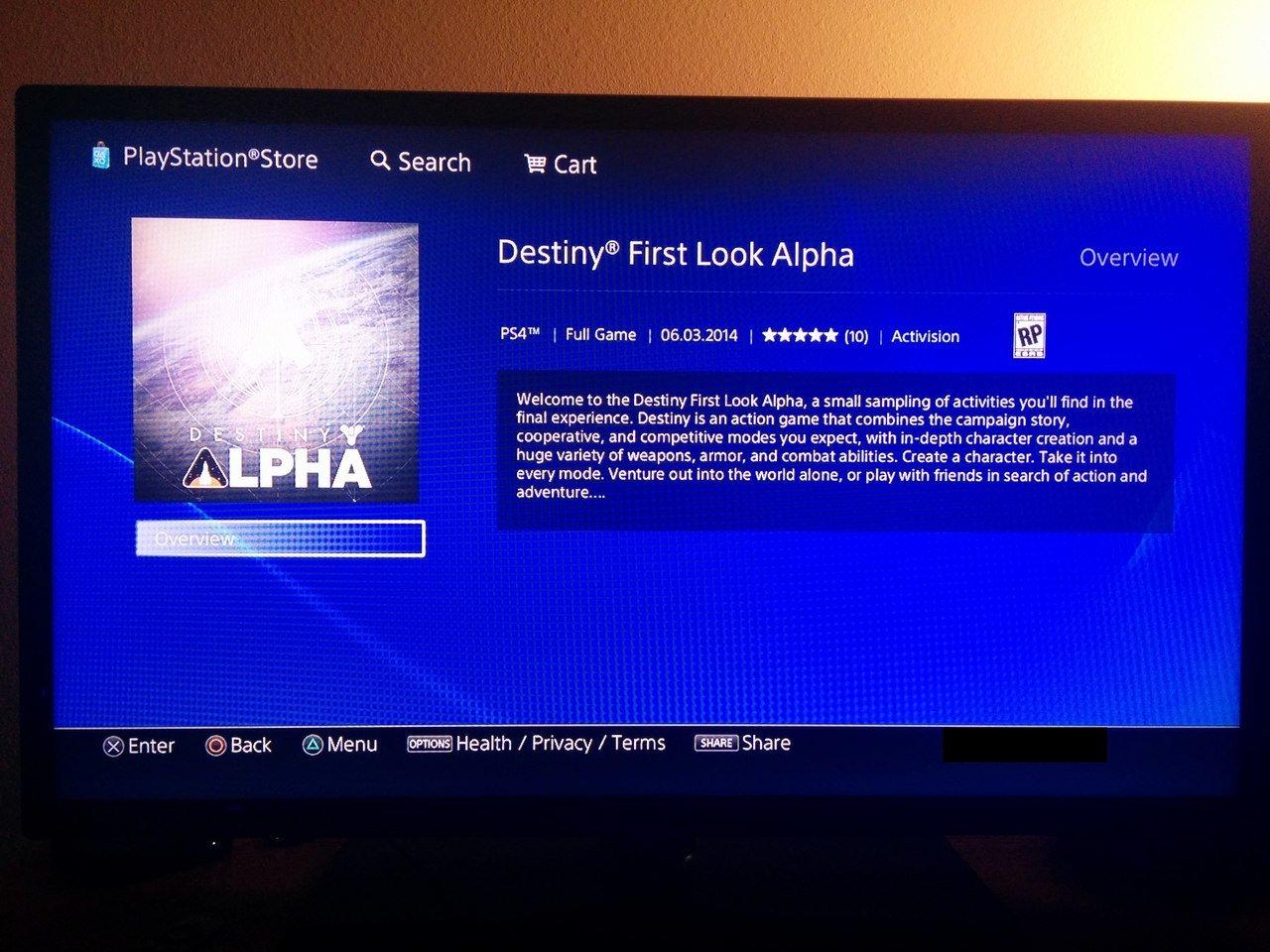 Слух: открытая альфа Destiny станет доступна 3 июня на PS4. - Изображение 1