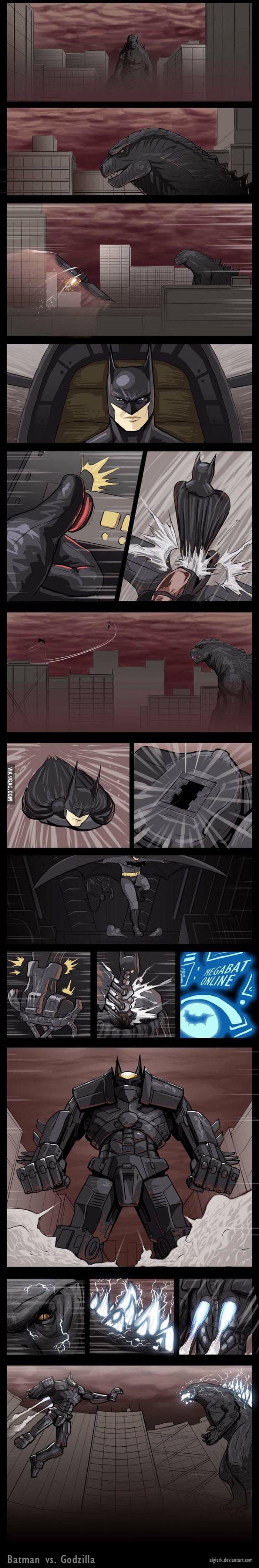 Batman vs Godzilla - Изображение 1