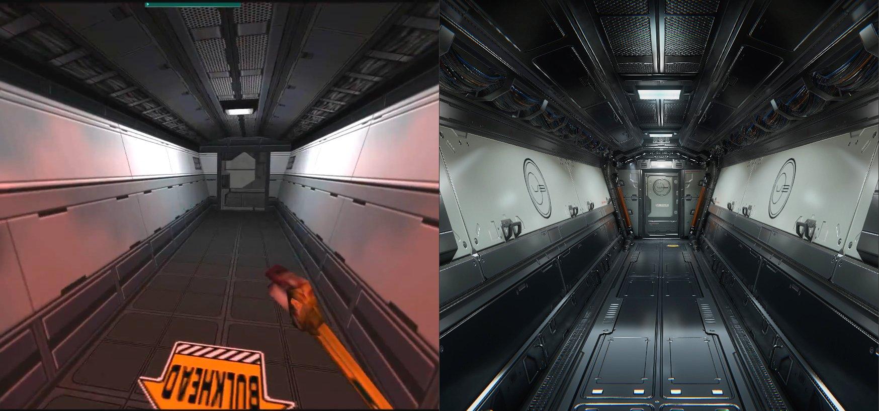 Художник воссоздает одну из лучших сцен System Shock 2 на CryEngine - Изображение 3