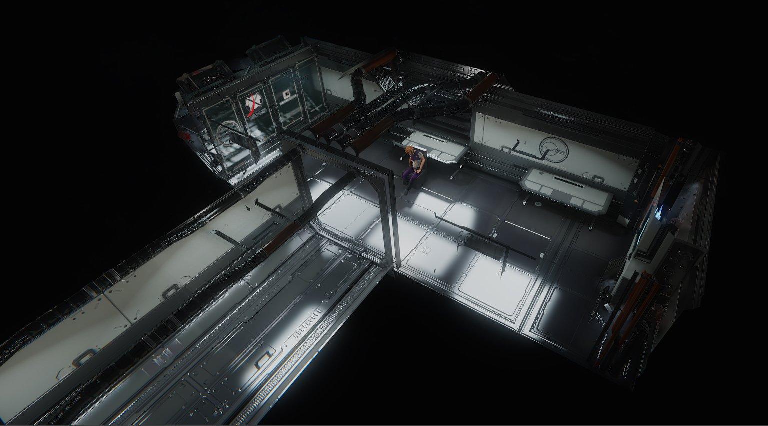 Художник воссоздает одну из лучших сцен System Shock 2 на CryEngine - Изображение 4