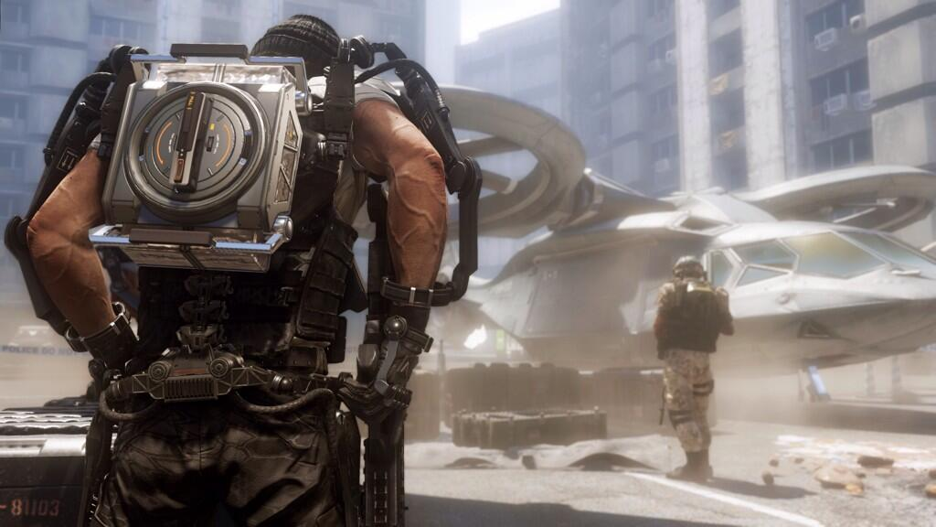 Call of Duty: Advanced Warfare - три новых скриншота - Изображение 1