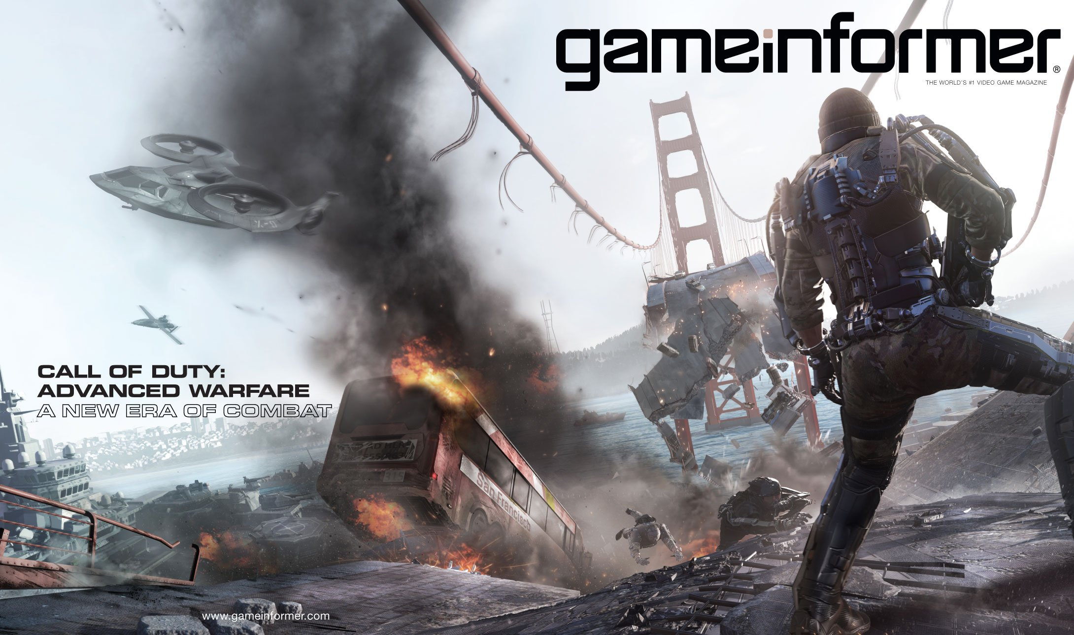 Call of Duty: Advanced Warfare на обложке GameInformer - Изображение 1