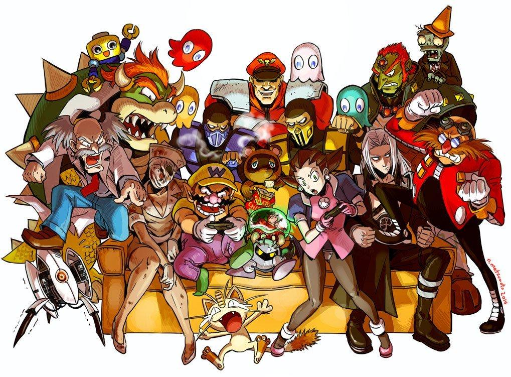 А вы знаете все игры, герои которых изображены ниже? - Изображение 1