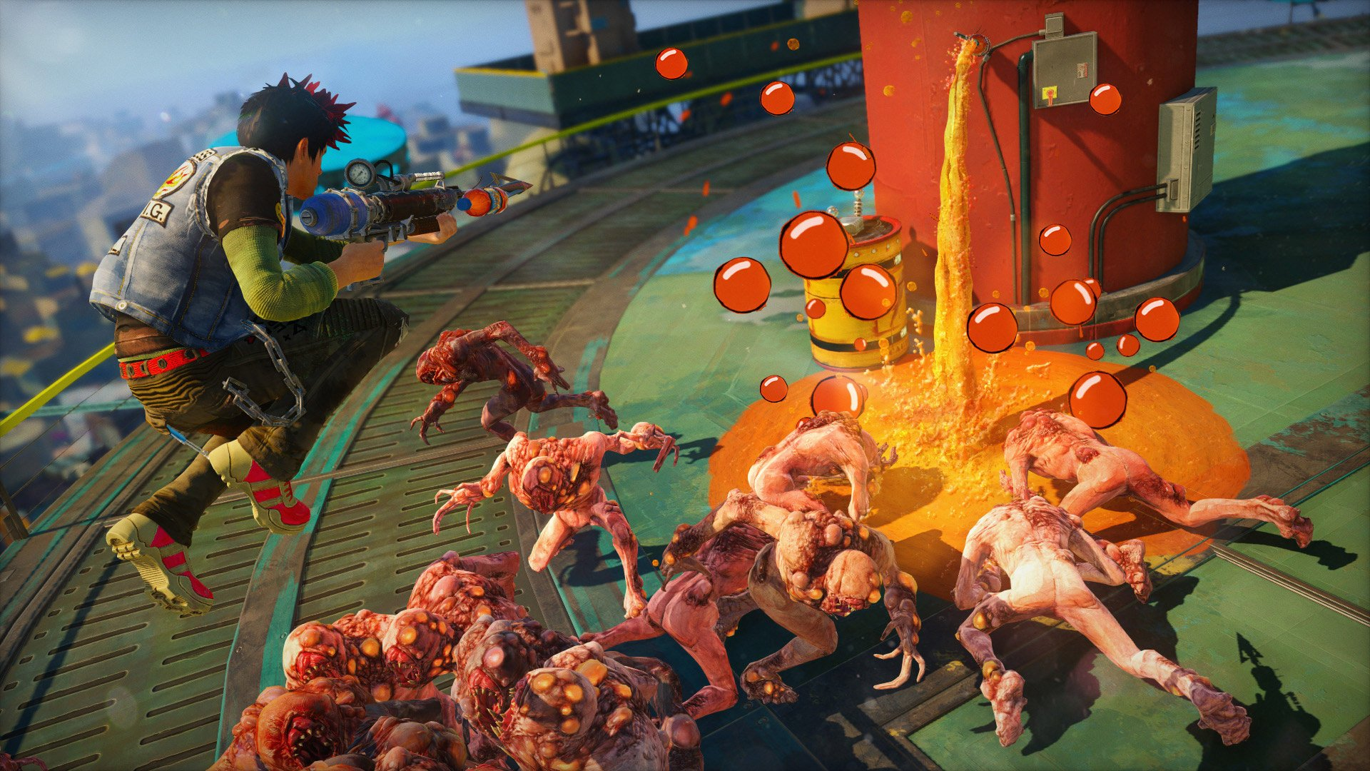 Veja a abertura de Sunset Overdrive, exclusivo do Xbox One D3b04dba-972a-4f0d-a67b-8b1adc8958d4
