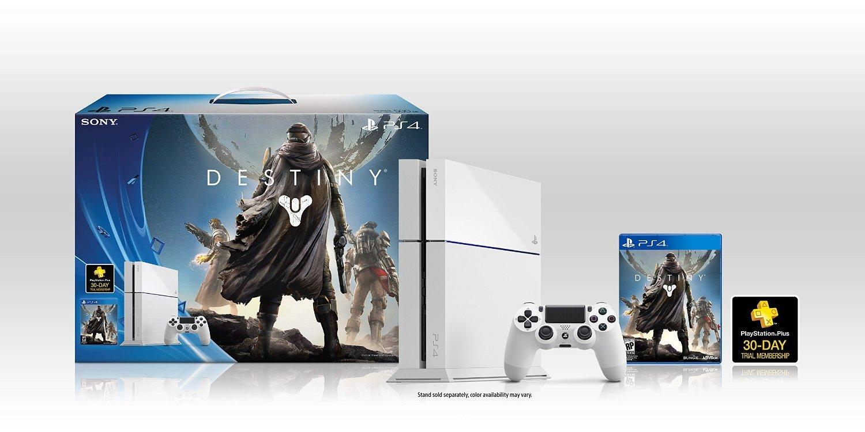 Крутой Белый бандл PS4 + Destiny  - Изображение 1
