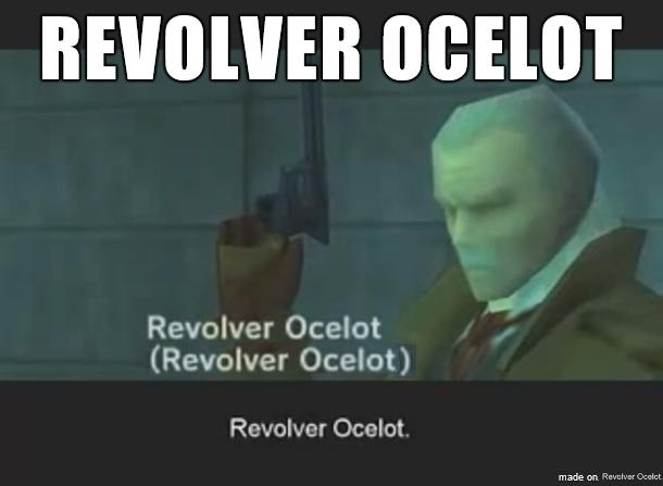 Revolver Ocelot - Изображение 1