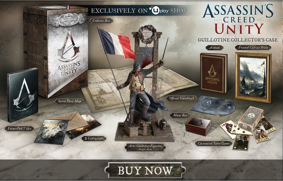 AC: Unity, Издание Guillotine Collector's Case - Изображение 1