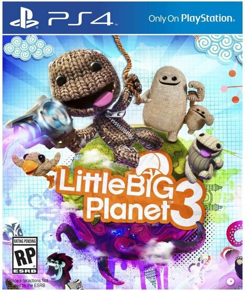 Бокс-арт little big planet 3 - Изображение 1