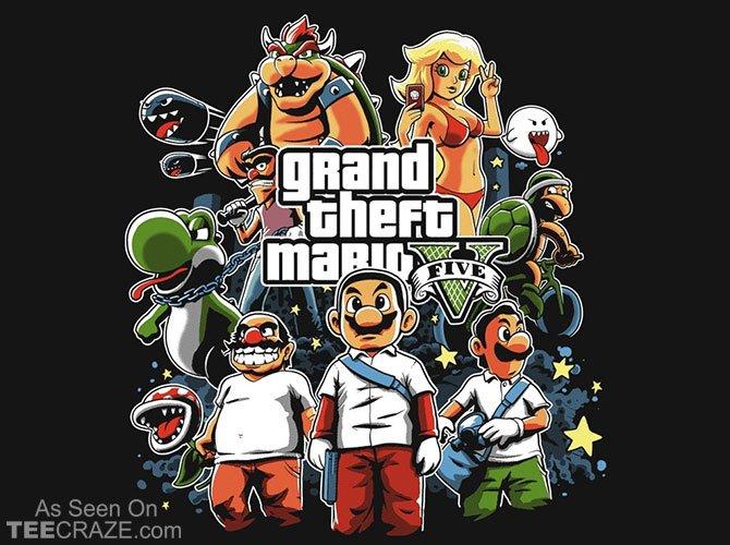 У Японии уже есть своя GTA 5 по версии Марио  - Изображение 1