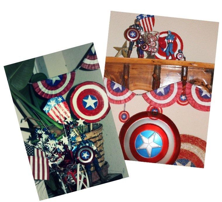 Пять летних поделок в стиле Капитана Америки - Изображение 1