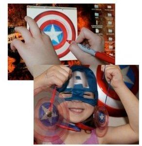 Пять летних поделок в стиле Капитана Америки - Изображение 3