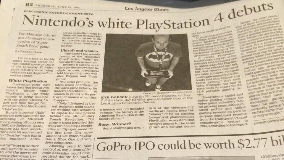 Нинтендо представила белую Playstation! Сенсация! - Изображение 1