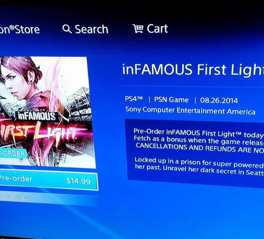 inFAMOUS: First Light - Изображение 1