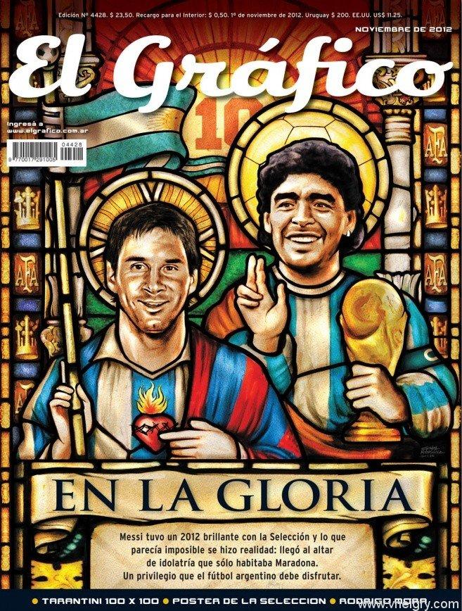 """Икона аргентинского футбола. Ожидать ли """"Свидетелей Месси""""?  - Изображение 1"""