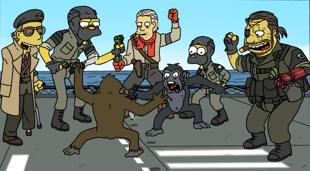 #MetalGear #MGS #MetalGearSolid #Simpsons   - Изображение 1
