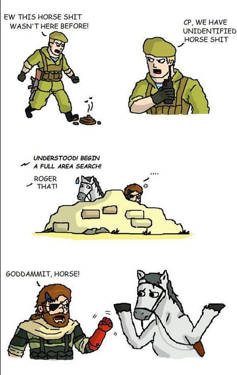 Metal Gear Horse - Изображение 1