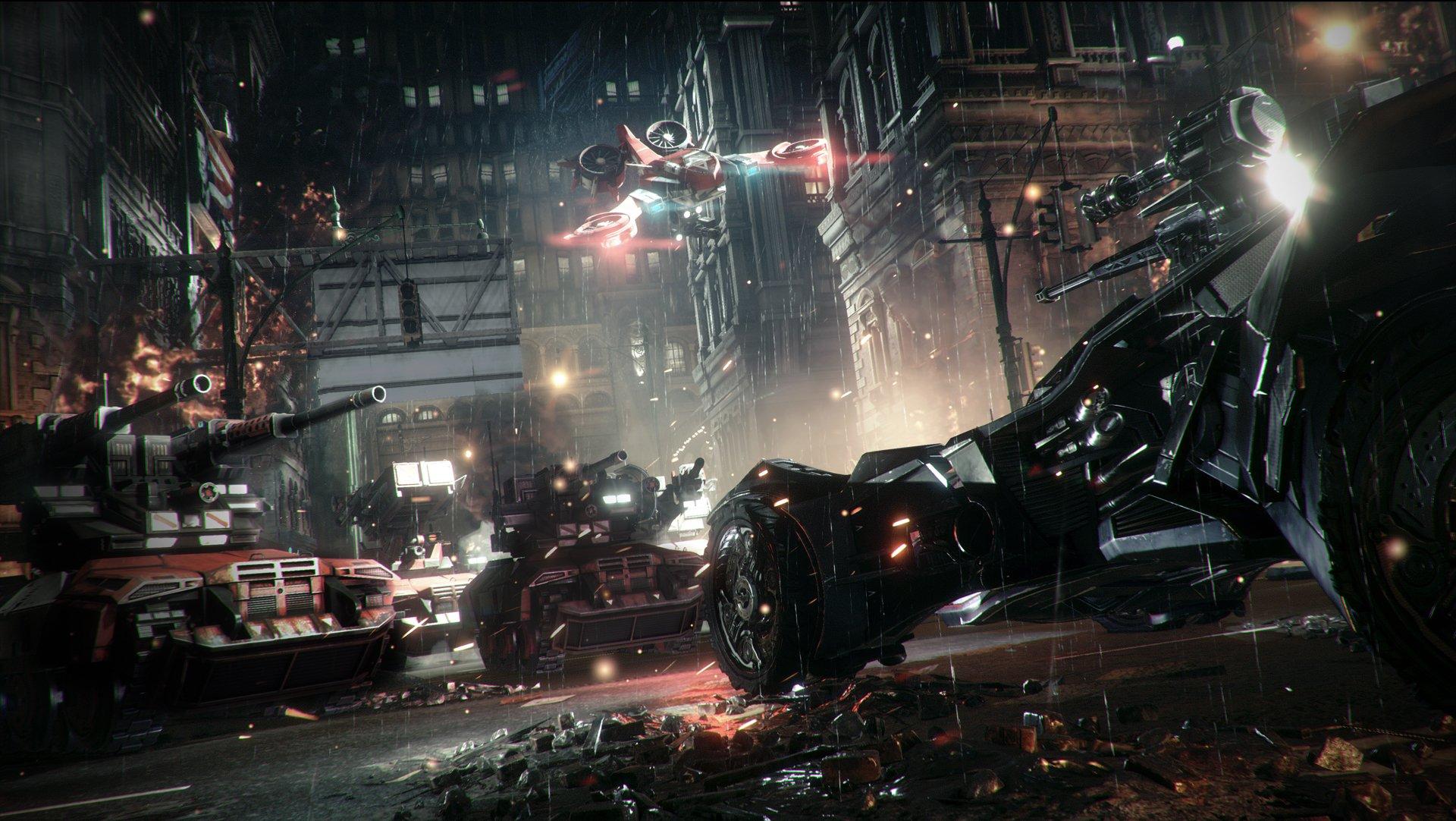 Впечатления от вождения Бэтмобиля в Batman: Arkham Knight - Изображение 1