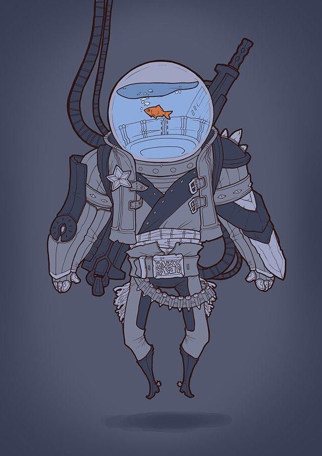 Space Fish of Justice - Изображение 1