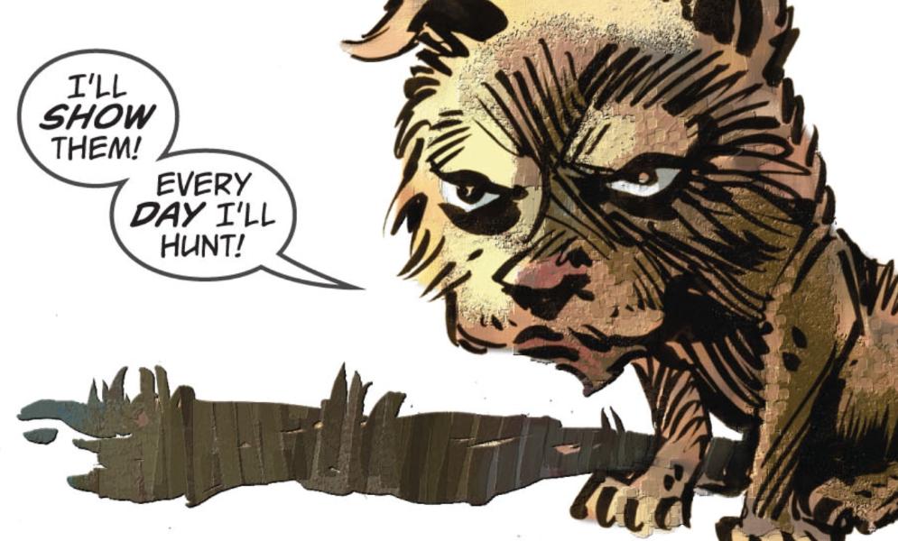 История о Большом Страшном Волке - Изображение 5