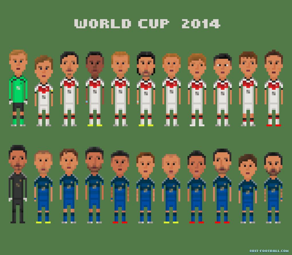 Самые эпичные моменты Кубка мира в 8-bit - Изображение 10