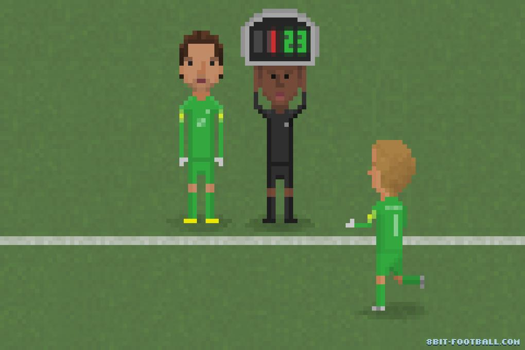 Самые эпичные моменты Кубка мира в 8-bit - Изображение 8