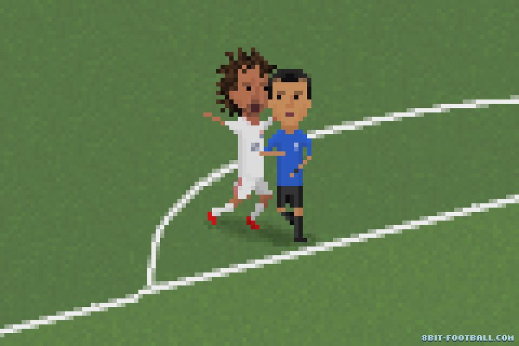 Самые эпичные моменты Кубка мира в 8-bit - Изображение 7