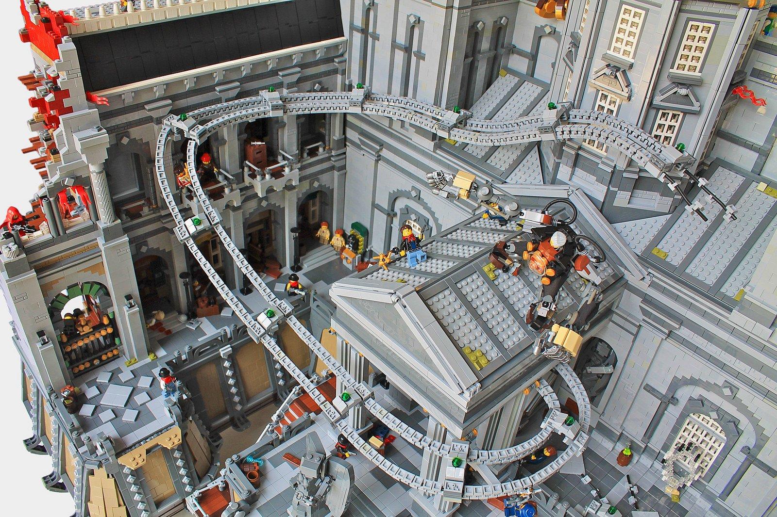 BioShock Infinite воссоздали в LEGO - Изображение 2