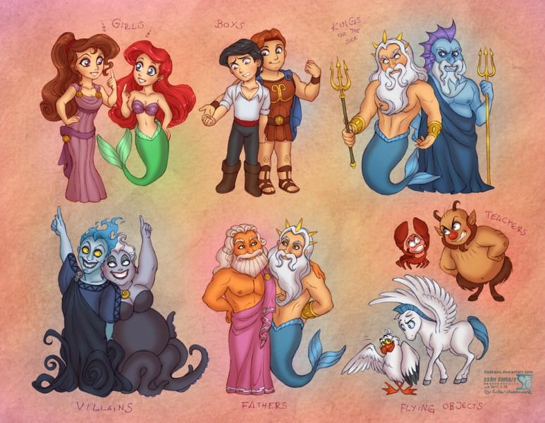 Диснеевские супер-принцессы - Изображение 1