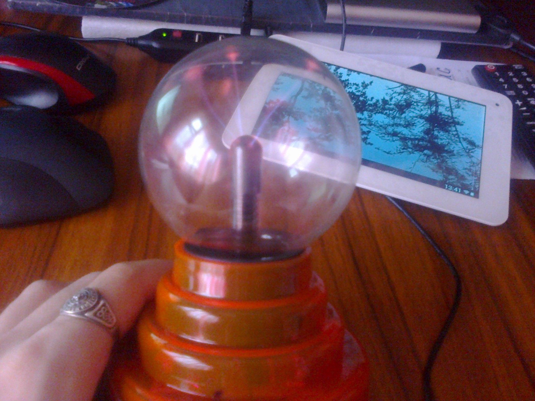 Лампа для извержения молний.  - Изображение 2