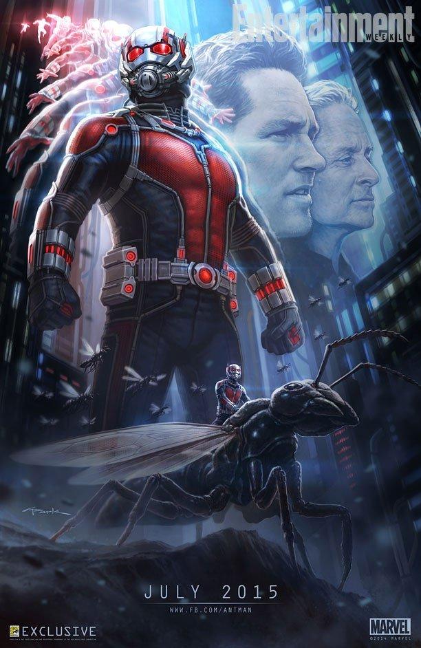 Первый постер к фильму «Человек-Муравей».  - Изображение 1