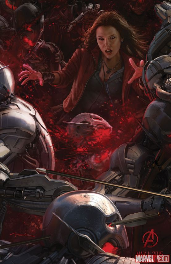 Marvel Studios представила на Комик-Коне два рисунка к фильму «Мстители: Эра Альтрона».  - Изображение 2