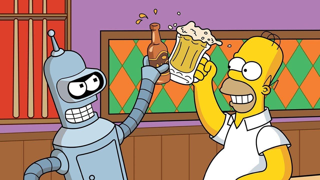 FOX официально анонсировала совместный эпизод Симпсонов и Футурамы. - Изображение 1