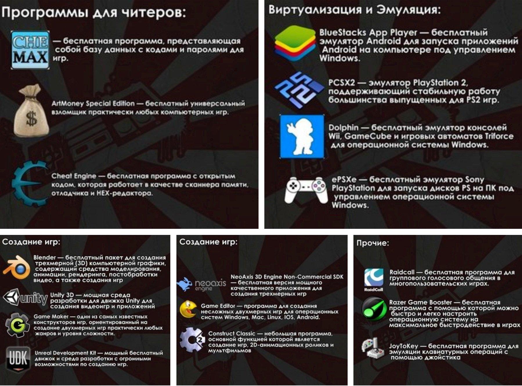 Бесплатные программки для творчества в играх. - Изображение 1