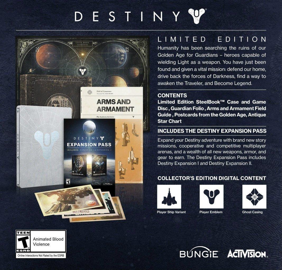 Анонсированы коллекционные издания Destiny для Северной Америки. - Изображение 4
