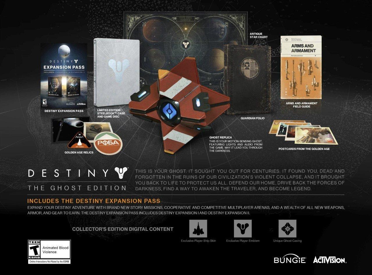 Анонсированы коллекционные издания Destiny для Северной Америки. - Изображение 3